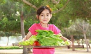 Ways to get children to eat vegetables